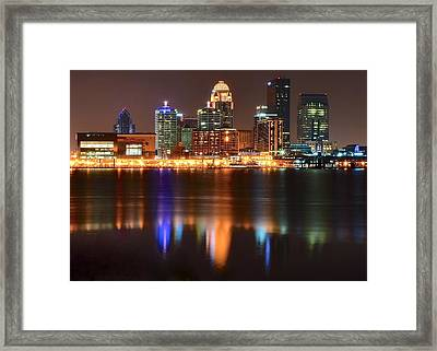 Louisville Eight By Ten Framed Print by Frozen in Time Fine Art Photography
