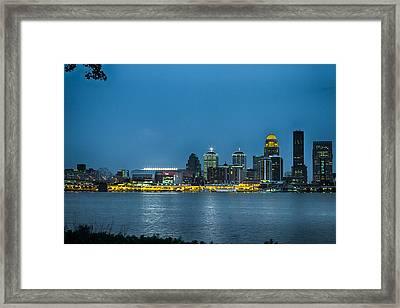 Louisville Ky 2012 Framed Print
