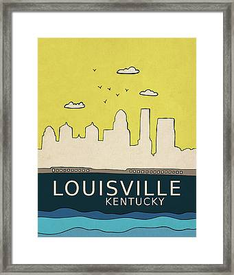 Louisville Framed Print by Lisa Barbero