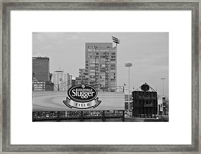 Louisville Slugger Field Framed Print by Dan Sproul
