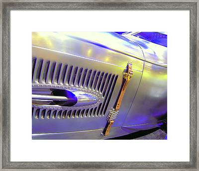 Framed Print featuring the photograph Louvered And Buckled In Las Vegas by Don Struke