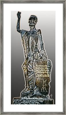 Louvre Death Framed Print by Gregory Dyer