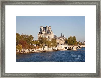 Louvre Museum  Paris  France Framed Print