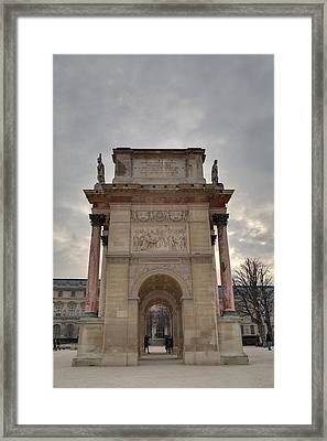 Louvre - Paris France - 01131 Framed Print by DC Photographer