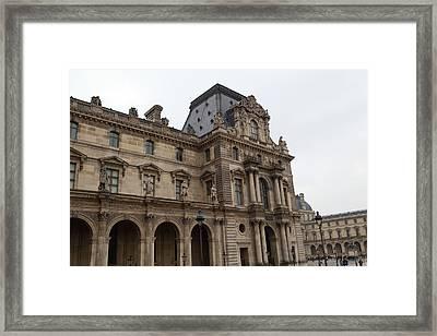Louvre - Paris France - 011317 Framed Print by DC Photographer