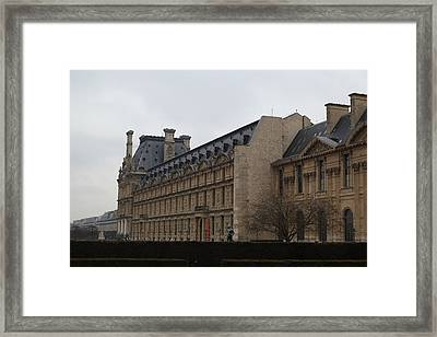 Louvre - Paris France - 011318 Framed Print