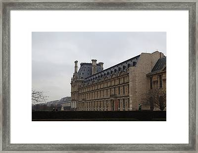 Louvre - Paris France - 011319 Framed Print by DC Photographer