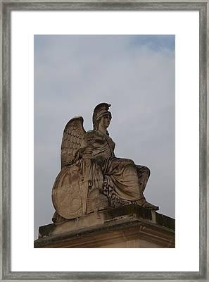 Louvre - Paris France - 01132 Framed Print