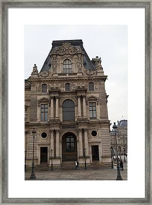Louvre - Paris France - 011320 Framed Print by DC Photographer
