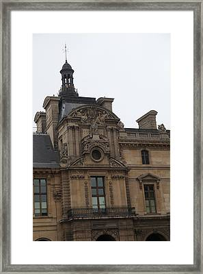 Louvre - Paris France - 011322 Framed Print by DC Photographer