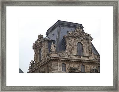 Louvre - Paris France - 011328 Framed Print by DC Photographer