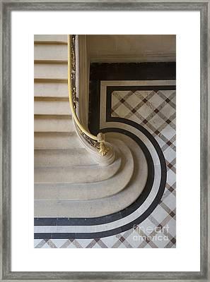 Louvre Steps Framed Print