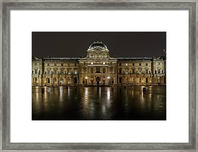 Louvre.pavillon Richelieu Framed Print by Rostislav Bychkov