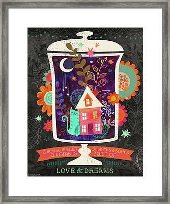 Love & Dreams Framed Print by Jennifer L. Wambach