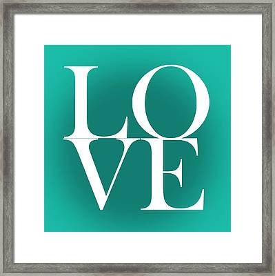 Love 4 Framed Print by Mark Ashkenazi