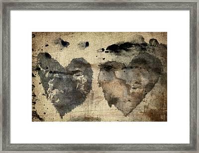 Love Abides Framed Print by Carol Leigh