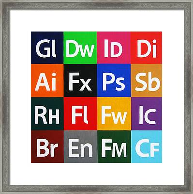 Love Adobe Framed Print by Oliver Johnston