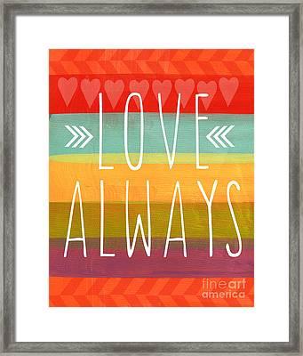 Love Always Framed Print
