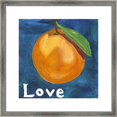 Love Framed Print by Amber Joy Eifler