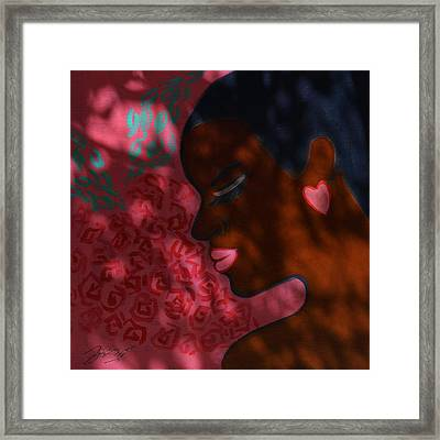 Love And Dreams Framed Print by Xueling Zou