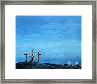 Love And Grace By Shawna Erback Framed Print