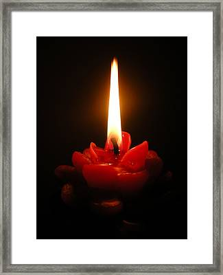 Love And Light Framed Print