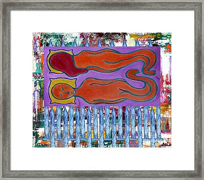 Love And Marriage Framed Print by Patrick J Murphy
