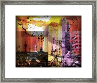 Love And Mystery  Framed Print by Christine Mayfield