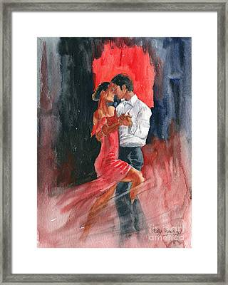 Love And Tango Framed Print