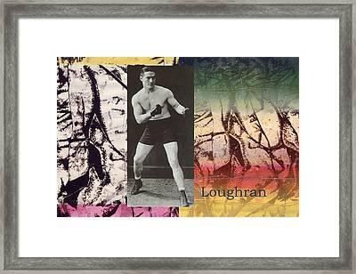 Love And War Loughran Framed Print