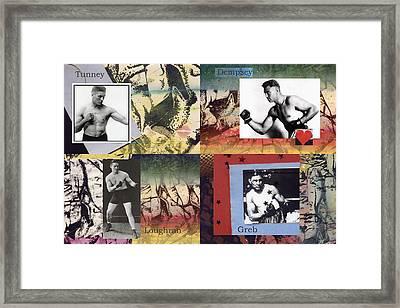 Love And War Roaring 20s Framed Print