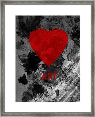 Love Art 1 Framed Print