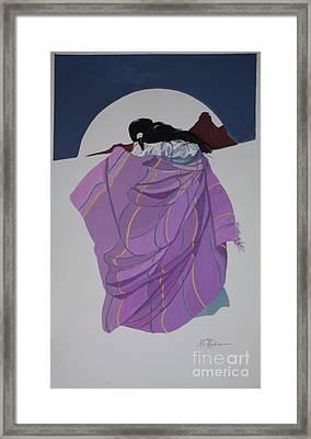 love at Bell Rock Framed Print