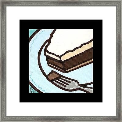 Love At First Bite Chocolate Cream Pie Framed Print by Jim Harris