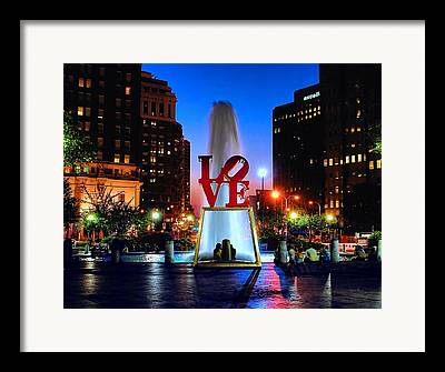 Plaza Framed Prints