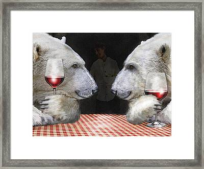Framed Print featuring the digital art Love Bears All Things by Jane Schnetlage