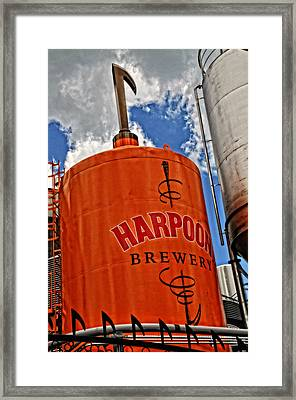 Love Beer Framed Print