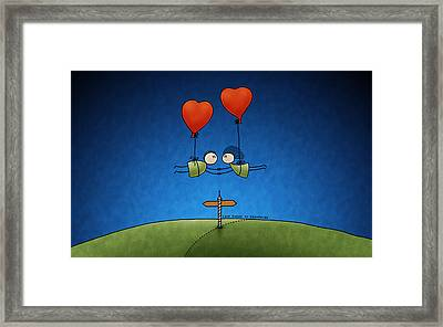 Love Beyond Boundaries Framed Print by Gianfranco Weiss