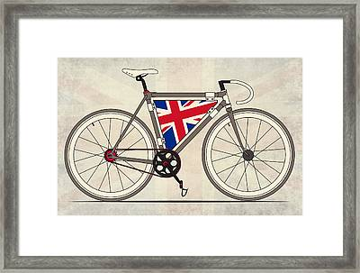 Love Bike Love Britain Framed Print