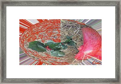 Love Bomb Framed Print by Feile Case