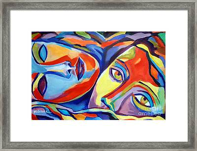 Love Bond Framed Print by Helena Wierzbicki