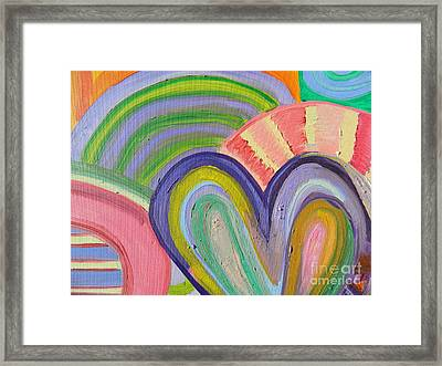 Love Bonding Framed Print