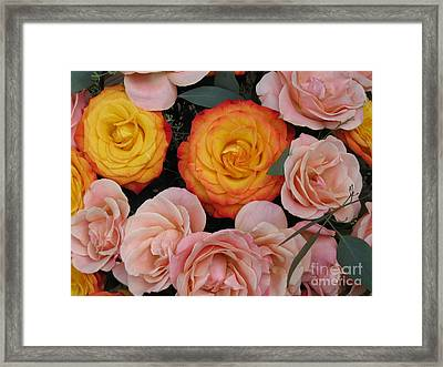Framed Print featuring the photograph Love Bouquet by HEVi FineArt