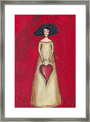 Love Bringer Framed Print