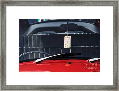 Love Bug Framed Print