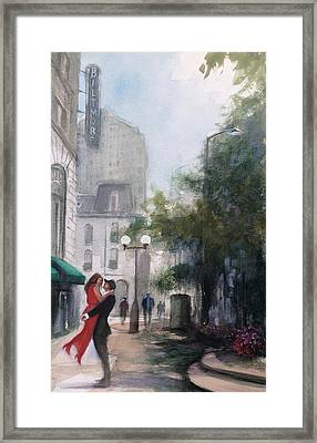 Love By The Biltmore Framed Print