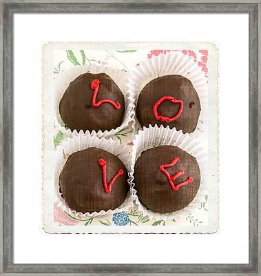 Love Cakes Framed Print by Edward Fielding
