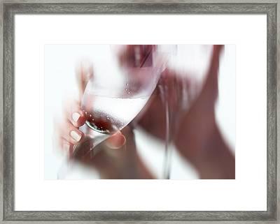 Love Celebration. For Us Framed Print by Jenny Rainbow