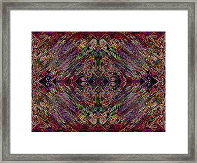 Love Centered In The Reach Framed Print by Kenneth James