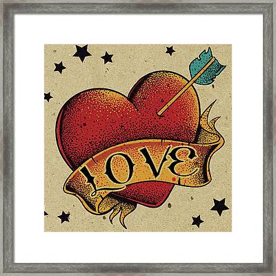 Love Child Framed Print by Bomo